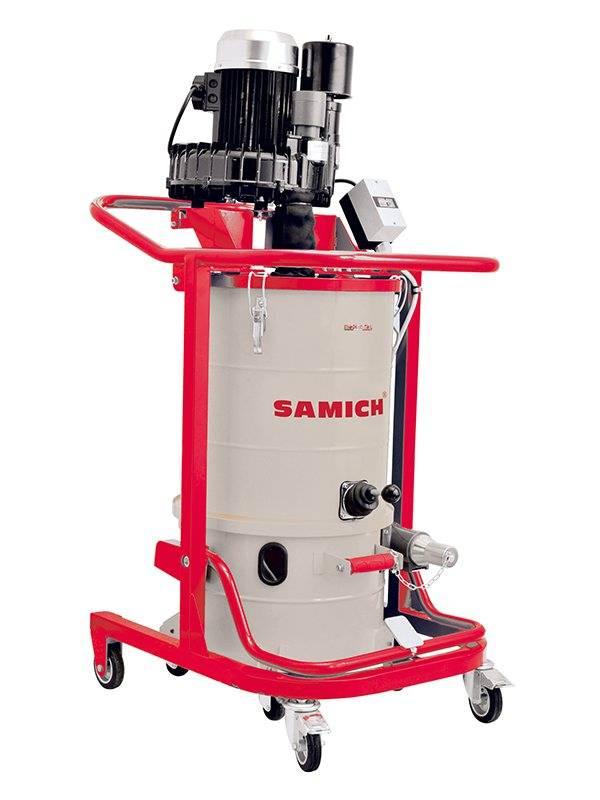 industrial dust extractor samich dustnator  m