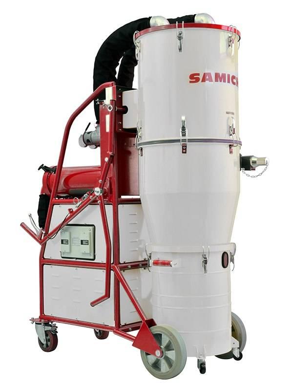industrial dust extractor samich dustnator s
