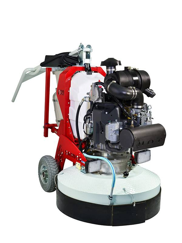 professional floor grinding machine samich mito  propane  heads