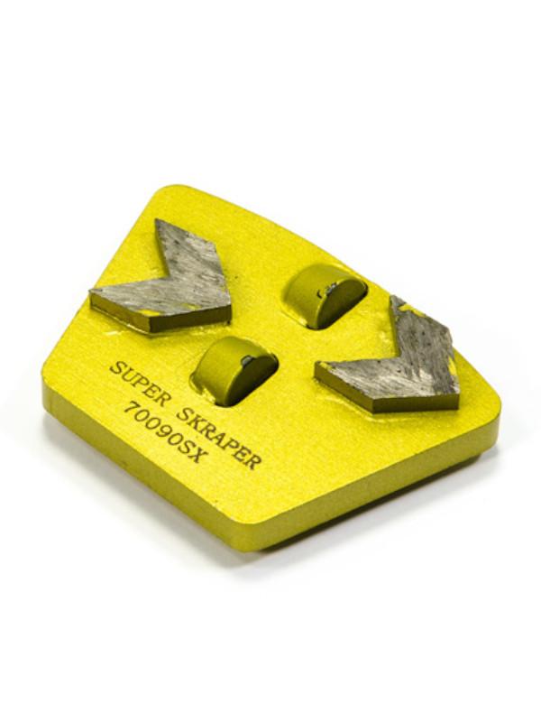 diamond tools super skraper pcd quick lock