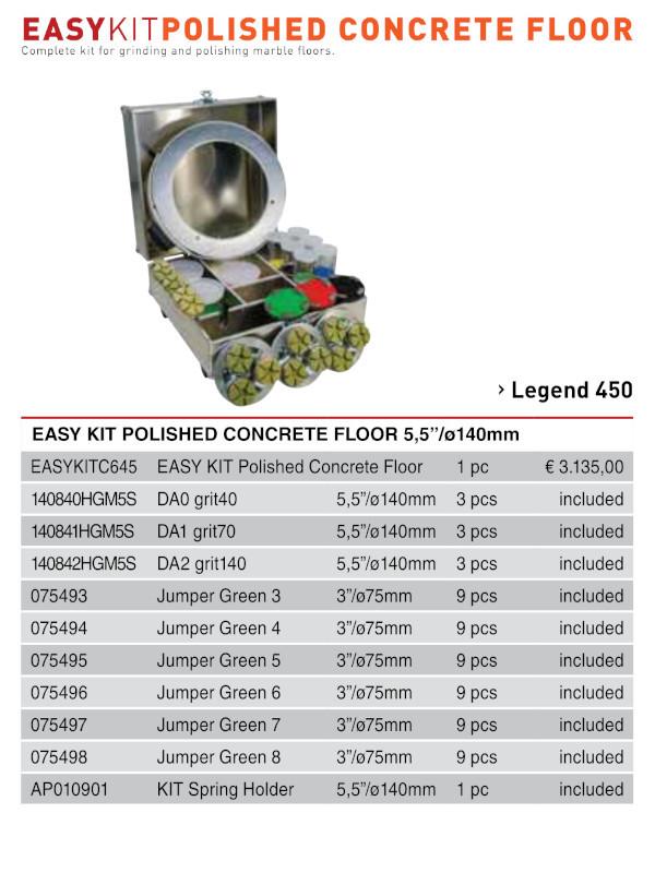 Easy Kit Polished Concrete Floor